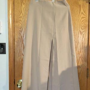 Tan Maxi Skirt
